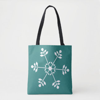 O bolsa do floco de neve