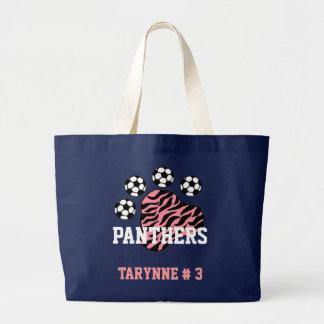 O bolsa do futebol das panteras