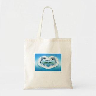 O bolsa do golfinho dos azuis bebés