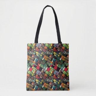 O bolsa do impressão do azulejo