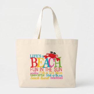 O bolsa do jumbo da praia