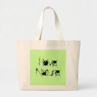 O bolsa do jumbo da série da natureza