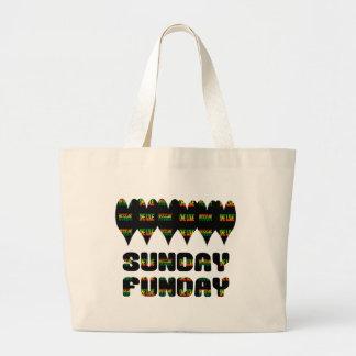 O bolsa do jumbo de domingo Funday da reggae