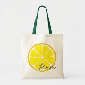 O bolsa do limão do citrino do verão