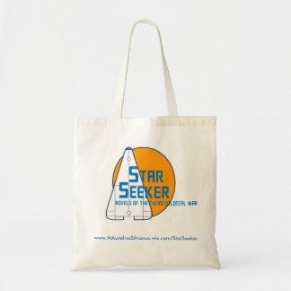 O bolsa do logotipo do investigador da estrela -