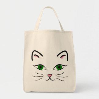 O bolsa do mantimento - cara do gatinho
