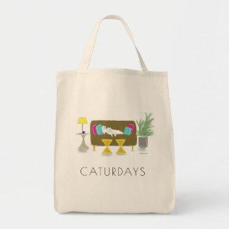 """O bolsa do mantimento de """"CATURDAYS"""""""
