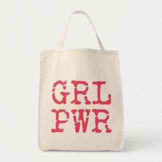 O bolsa do mantimento de GRLPWR (girlpower)