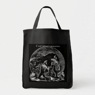 O bolsa do mantimento de mineiro de carvão