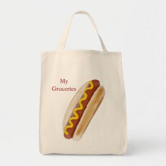 O bolsa do mantimento do cachorro quente