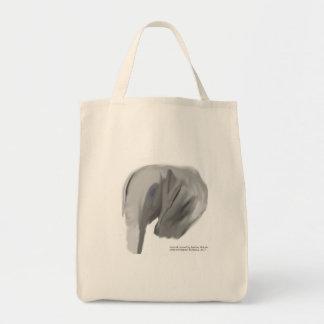 O bolsa do mantimento do elefante