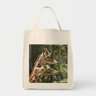 O bolsa do mantimento do girafa