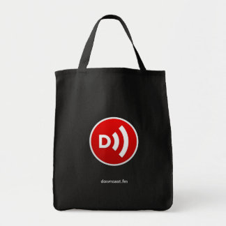 O bolsa do mantimento do logotipo do círculo da