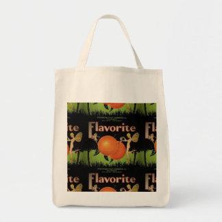 O bolsa do mantimento que caracteriza a etiqueta