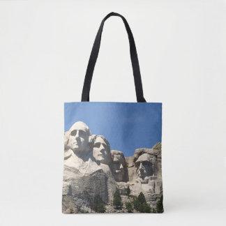 O bolsa do monumento do Monte Rushmore