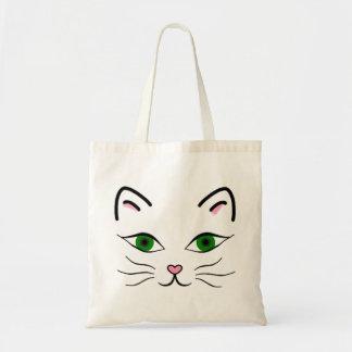 O bolsa do orçamento - cara do gatinho