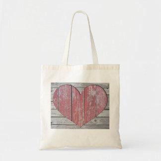 O bolsa do orçamento com coração