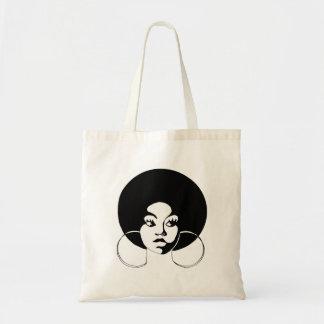 O bolsa do orçamento da diva do Afro