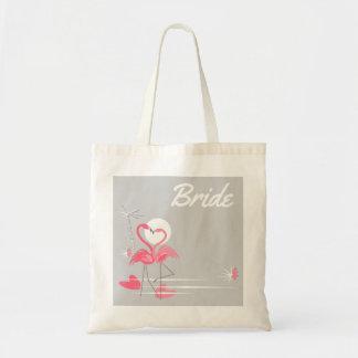 O bolsa do orçamento da noiva do lado do amor do