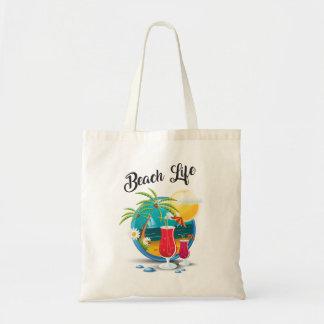 O bolsa do orçamento da vida da praia