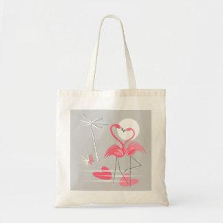 O bolsa do orçamento do amor do flamingo
