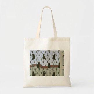 O bolsa do orçamento dos gatos de Magritte