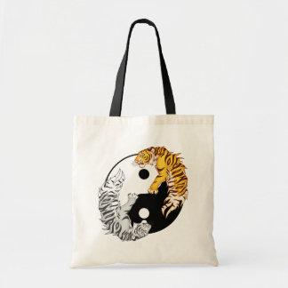 O bolsa do orçamento dos tigres de Yin & de Yang