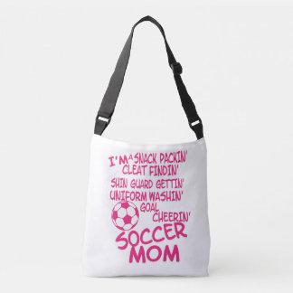 O bolsa do orgulho da mamã do futebol