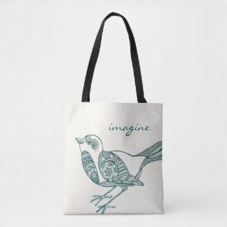 O bolsa do pássaro na cerceta