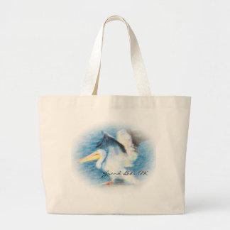 o bolsa do pelicano 17 da aguarela