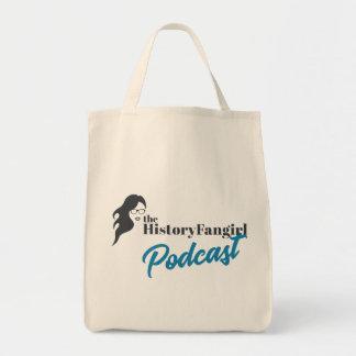 O bolsa do Podcast de Fangirl da história