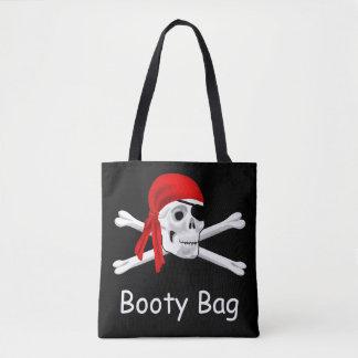 O bolsa do saco do montante do pirata