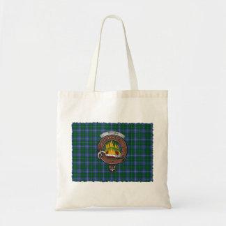 O bolsa do Tartan do crachá do clã de Douglas