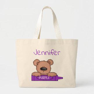 O bolsa do Teddybear de Jennifer