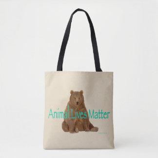 """""""O bolsa do urso da matéria das vidas animais"""""""