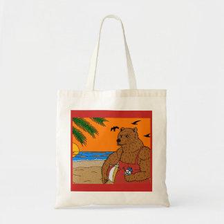 O bolsa do urso da praia