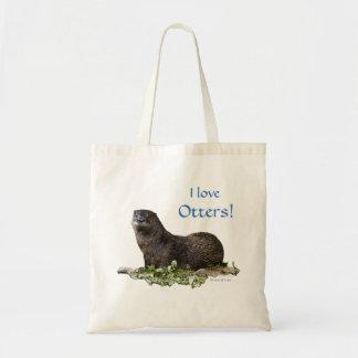 """O bolsa do valor das lontras da lontra de rio """"eu"""