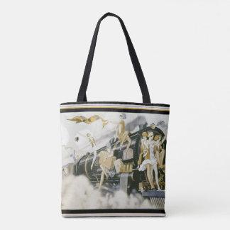 O bolsa dos Flappers do art deco