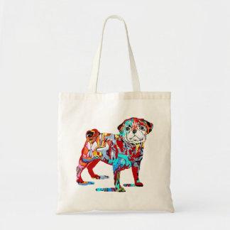 O bolsa dos grafites do cão do Pug