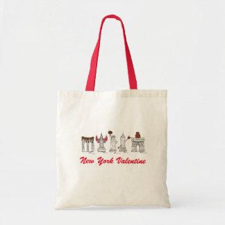 O bolsa dos marcos do dia dos namorados NYC da