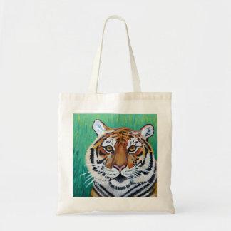 O bolsa dos trabalhos de arte do tigre
