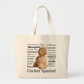 O bolsa dos traços de cocker spaniel