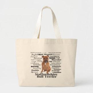 O bolsa dos traços de Staffie