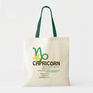 O bolsa dos traços do Capricórnio