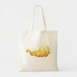 O bolsa dourado do orçamento do dragão