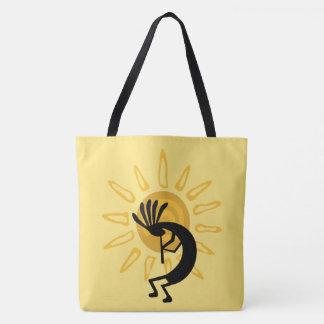O bolsa dourado do sudoeste de Kokopelli Sun