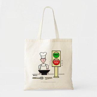 O bolsa engraçado do mantimento dos desenhos