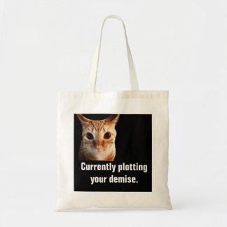 O bolsa engraçado do orçamento do gato dos lotes
