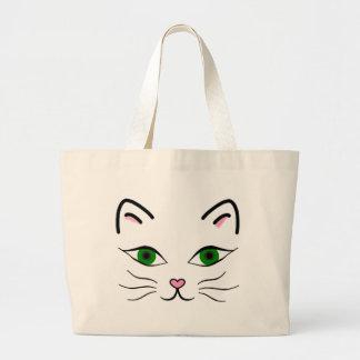 O bolsa enorme - cara do gatinho