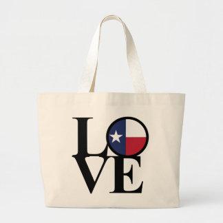 O bolsa enorme do mantimento do algodão de Texas